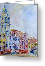 Venice 6-29-15 Greeting Card