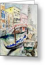 Venice-7-15 Greeting Card
