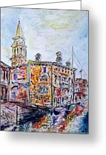 Venice 7-3-15 Greeting Card