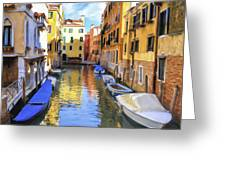 Venice Alleyway 2 Greeting Card