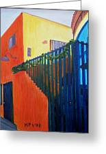 Venice Building Greeting Card