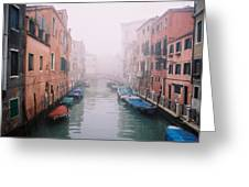 Venice Canal I Greeting Card