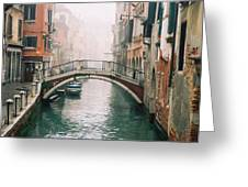 Venice Canal II Greeting Card