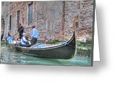 Venice Channels Greeting Card
