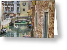 Venice Channels1  Greeting Card