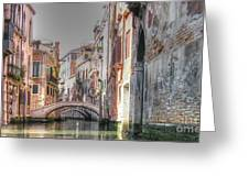 Venice Channelss Greeting Card