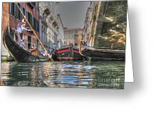 Venice Channelsss Greeting Card