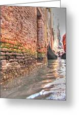 Venice Channelssss  Greeting Card