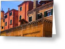 Venice Details Italy Greeting Card