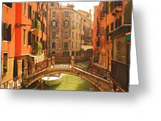 Venice Dream Greeting Card by Denise Darby