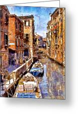 Venice I Greeting Card
