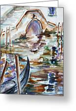Venice Impression I Greeting Card