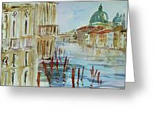 Venice Impression IIi Greeting Card