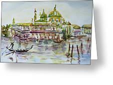 Venice Impression Iv Greeting Card