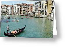 Venice In Colors Greeting Card