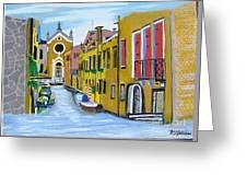 Venice In September Greeting Card