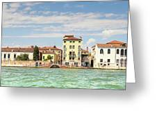 Venice In Summer  Greeting Card