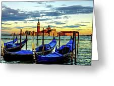 Venice Landmark Greeting Card