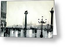 Venice October Greeting Card
