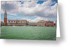 Venice Panorama Greeting Card