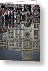 Venice Parade Greeting Card by Patrick English