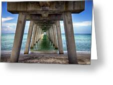 Venice Pier Greeting Card