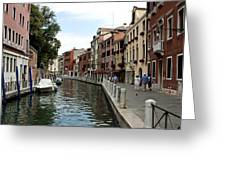 Venice Postcard Greeting Card