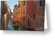 Venice Sentimental Journey Greeting Card