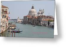 Venice The Beaufiful Greeting Card