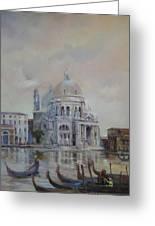Venice Greeting Card by Tigran Ghulyan