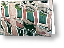 Venice Upside Down 3 Greeting Card
