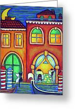 Venice Valentine II Greeting Card by Lisa  Lorenz