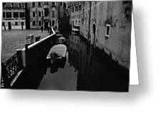 Venice View Greeting Card
