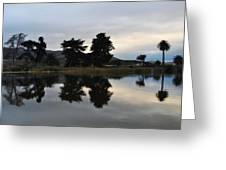 Ventura California Coast Estuary Greeting Card
