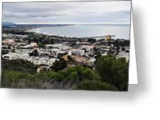 Ventura Coast Skyline Greeting Card