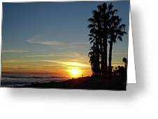 Ventura Sunset Greeting Card