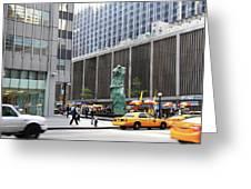 New York's Venus De Milo Greeting Card