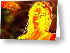 Venus Is Home Greeting Card