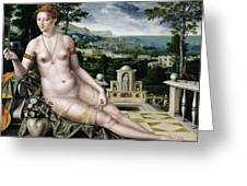 Venus Of Cythera Greeting Card