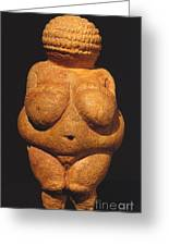 Venus Of Willendorf Greeting Card