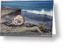 Venus Off The Shell Greeting Card