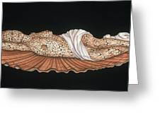 Venus On The Half-shell Greeting Card