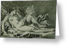 Venus Sleeping Greeting Card