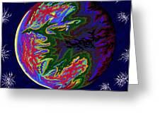 Venus Ss Greeting Card