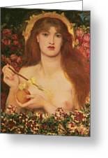 Venus Verticordia Greeting Card by Dante Gabriel Rossetti