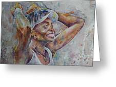 Venus Williams - Portrait 1 Greeting Card