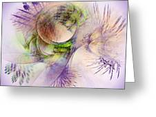 Venusian Microcosm Greeting Card
