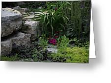 Veras Garden Greeting Card