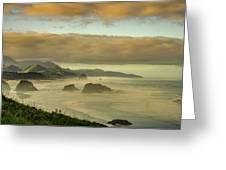 Verdant Coast Greeting Card