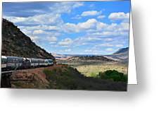 Verde Canyon Greeting Card